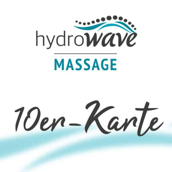 Anwendung/en Hydrowave Massage (10er-Karte)